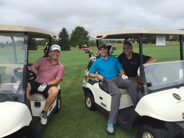 Sterling Medical Device Empolyees at the Depuy Synthes Golf Outing Fundraiser